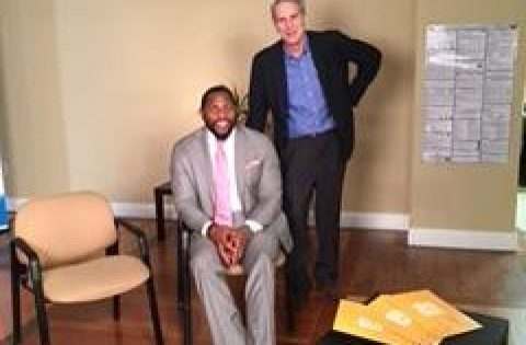 Baltimore. Ray Lewis, Vice President Power 52 interview